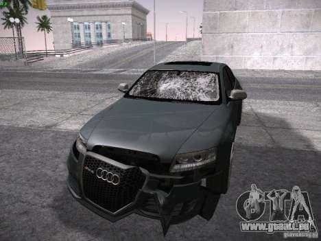 Audi RS6 2009 für GTA San Andreas Seitenansicht