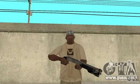 Forces spéciales américaines fusil de chasse pour GTA San Andreas