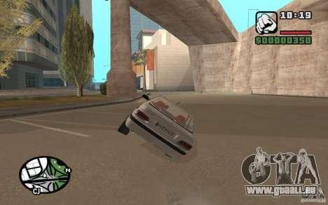 Peugeot 406 Persia pour GTA San Andreas vue de droite