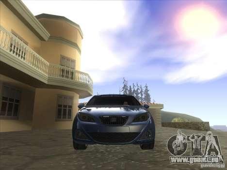 Seat Ibiza 2008 pour GTA San Andreas vue arrière