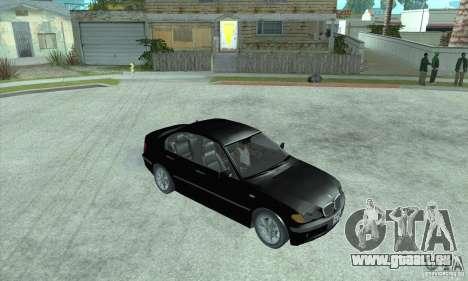 BMW 325i für GTA San Andreas zurück linke Ansicht