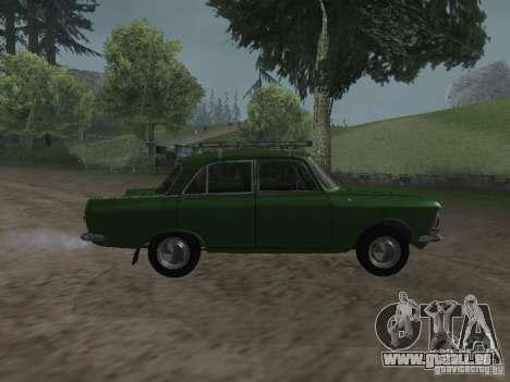 IZH 412 v3.0 pour GTA San Andreas laissé vue