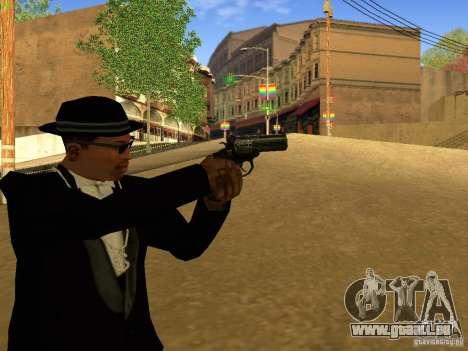 MP 412 pour GTA San Andreas troisième écran