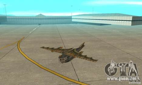 Sehr schönes Flugzeug von TimeShift für GTA San Andreas linke Ansicht