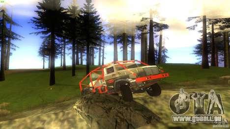 Insane 2 pour GTA San Andreas vue intérieure