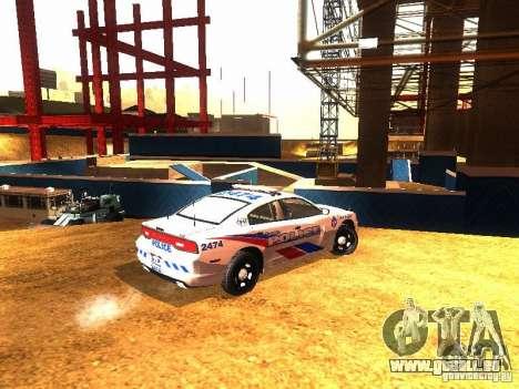 Dodge Charger 2011 Toronto Police für GTA San Andreas rechten Ansicht