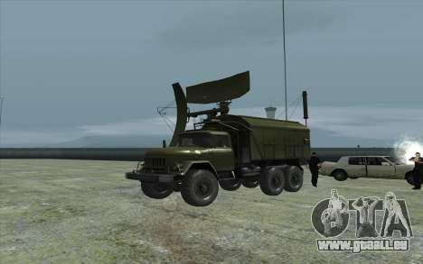 ZIL-131 RSP-7 für GTA San Andreas