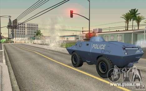 Wache auf BTR für GTA San Andreas her Screenshot