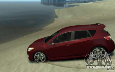 Mazda 3 MPS 2010 pour GTA 4 est une gauche