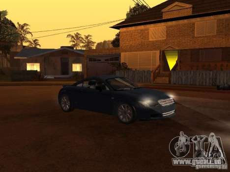 Audi TT 3.2 Quattro für GTA San Andreas linke Ansicht