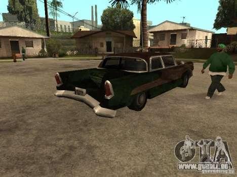 OceanicShit pour GTA San Andreas sur la vue arrière gauche