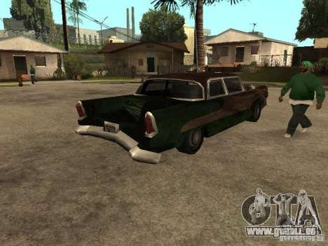 OceanicShit für GTA San Andreas zurück linke Ansicht