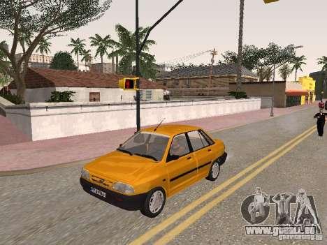 Kia Pride 131 pour GTA San Andreas vue de côté