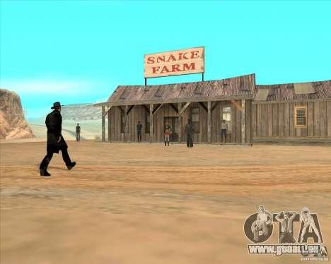 Cowboy Duell v2. 0 für GTA San Andreas dritten Screenshot