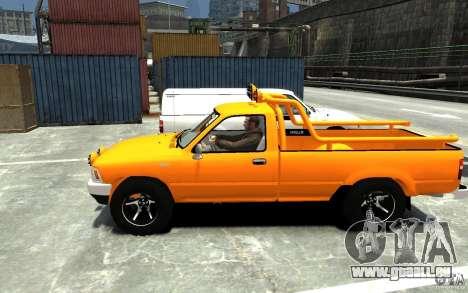 Toyota Hilux 1989-1993 Single cab v1 pour GTA 4 est une gauche