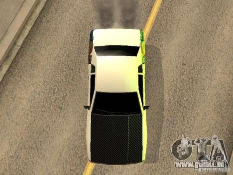 Elégie de Foresto_O pour GTA San Andreas vue arrière
