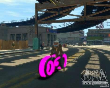 Motorrad des Throns (neonpink) für GTA 4