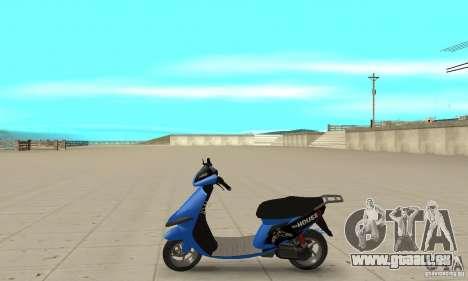 FaggioIV Chnnge General für GTA San Andreas linke Ansicht
