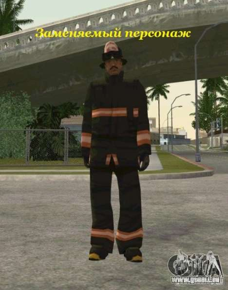 Felle von s.t.a.l.k.e.r. für GTA San Andreas her Screenshot