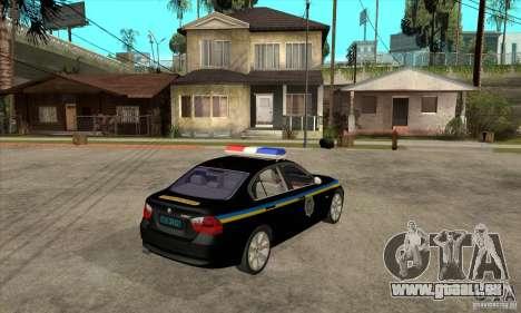 BMW 3 Serie DPS für GTA San Andreas rechten Ansicht