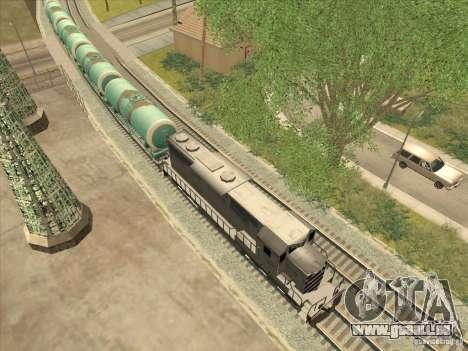 Tank Nr. 517 94592 für GTA San Andreas linke Ansicht