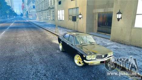 Mazda RX3 pour GTA 4 est un droit