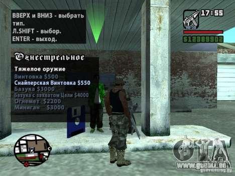 Gun Seller RUS für GTA San Andreas
