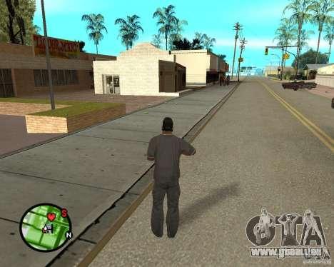 Police On Radar pour GTA San Andreas quatrième écran