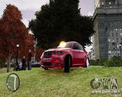 BMW X6M Lumma pour GTA 4