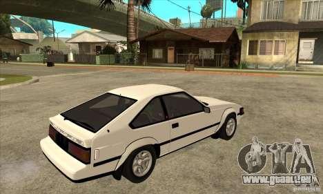 Toyota Celica Supra 1984 pour GTA San Andreas vue de droite