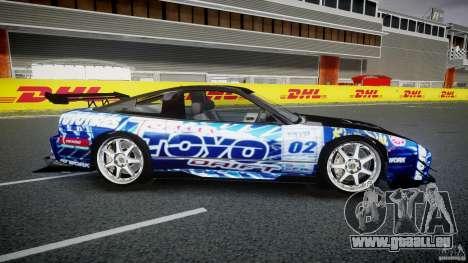 Nissan 240sx Toyo Kawabata für GTA 4 Seitenansicht