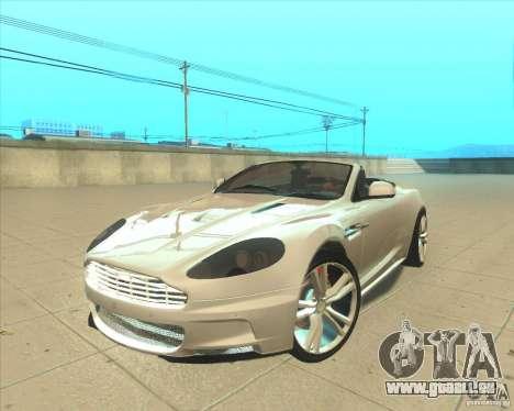 Aston Martin DBS Volante 2009 pour GTA San Andreas