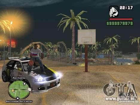 Fußball-Russland für GTA San Andreas her Screenshot