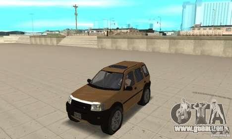 Land Rover Freelander KV6 pour GTA San Andreas