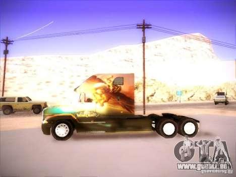 Mack Vision pour GTA San Andreas vue de droite