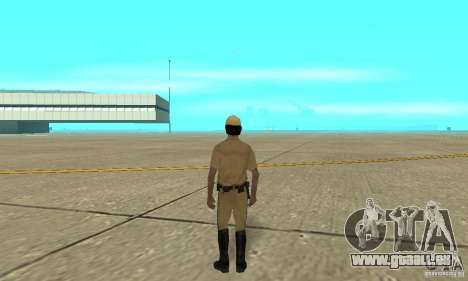 New uniform cops on bike für GTA San Andreas dritten Screenshot