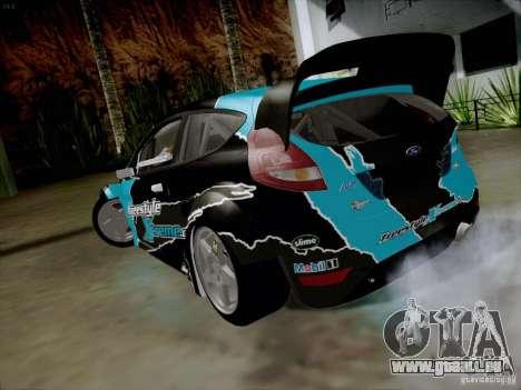Ford Fiesta RS pour GTA San Andreas sur la vue arrière gauche