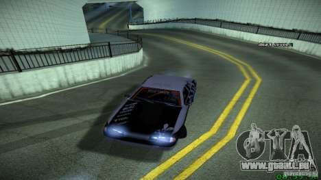 Elegy by LeM pour GTA San Andreas sur la vue arrière gauche