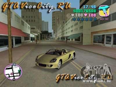 Porsche Carrera GT für GTA Vice City