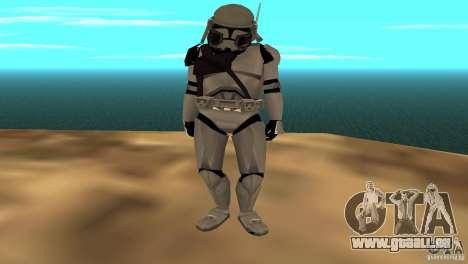 Commander Bacara für GTA San Andreas dritten Screenshot