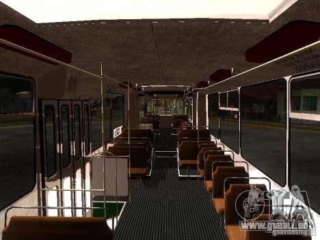 ZiU 683 pour GTA San Andreas vue intérieure