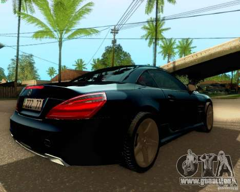 Mercedes-Benz SL350 2013 pour GTA San Andreas salon