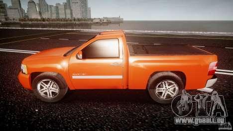 Chevrolet Silverado 2011 pour GTA 4 est une gauche