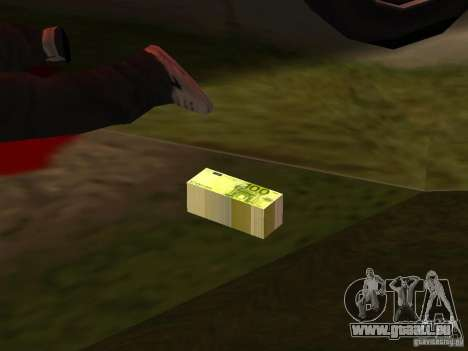 Euro money mod v 1.5 100 euros II für GTA San Andreas