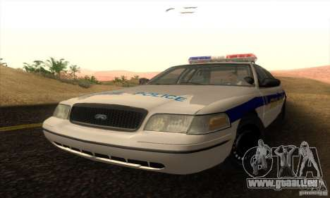 Ford Crown Victoria Police für GTA San Andreas