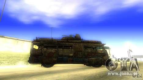 Frontline - MilBus für GTA San Andreas linke Ansicht