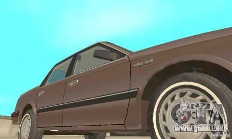 Oldsmobile Cutlass Ciera 1993 für GTA San Andreas Unteransicht