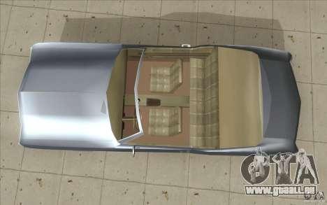 Buick Riviera GS 1969 pour GTA San Andreas vue de droite