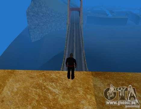 Golden Gate pour GTA San Andreas troisième écran