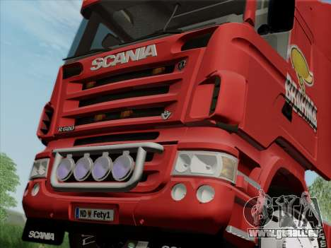 Scania R620 Brahma für GTA San Andreas Seitenansicht